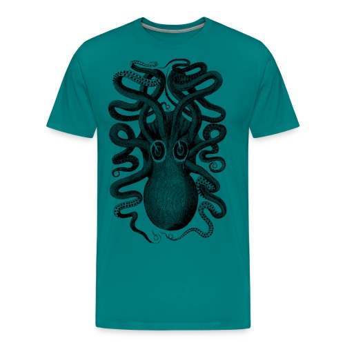 octopus - Men's Premium T-Shirt