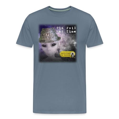 Tin Foil Hat Time (Space) - Men's Premium T-Shirt