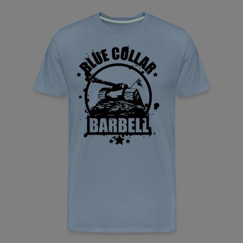 logo transparent double - Men's Premium T-Shirt