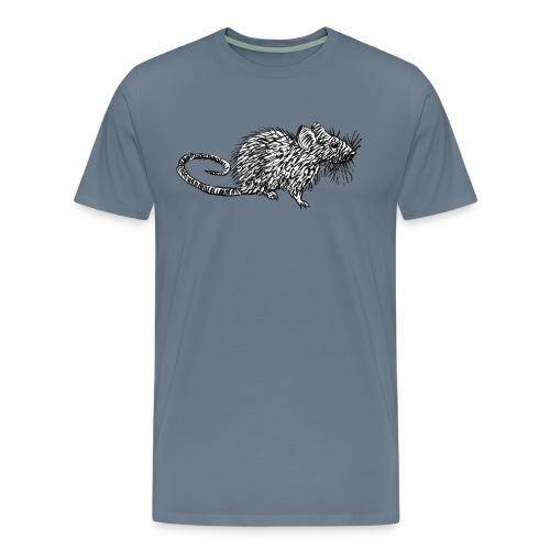 Quiet as a Mouse - Men's Premium T-Shirt