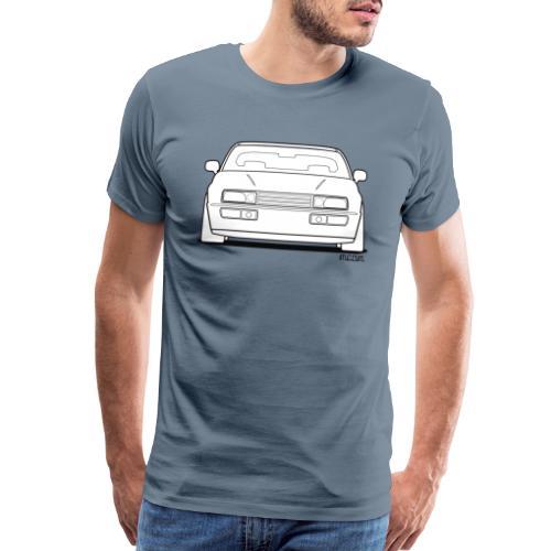 Wolfsburg Rado Outline - Men's Premium T-Shirt
