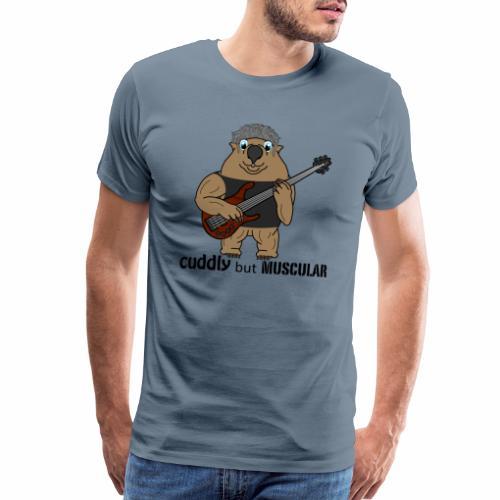 wombatblack - Men's Premium T-Shirt