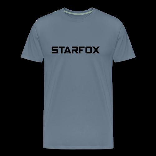 STARFOX Text - Men's Premium T-Shirt