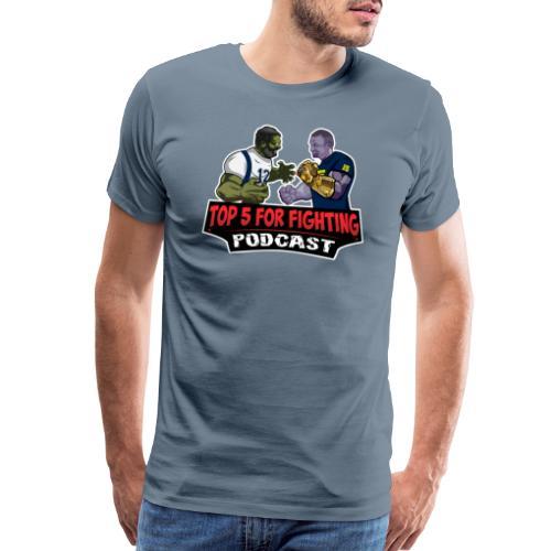 Top 5 for Fighting Logo - Men's Premium T-Shirt