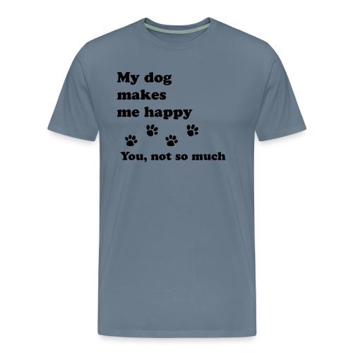 love dog 2 - Men's Premium T-Shirt