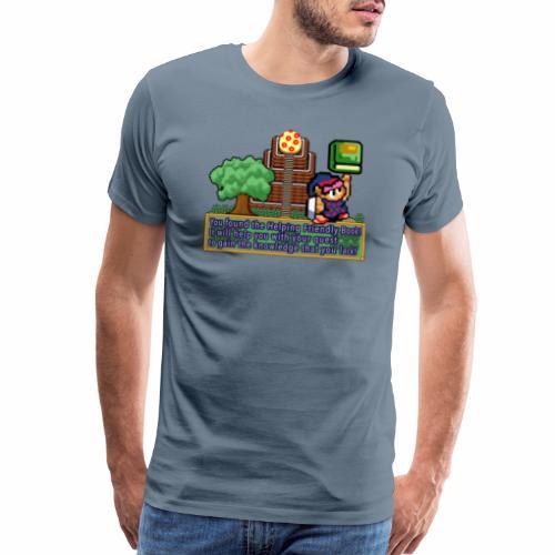 Helping Friendly Book of Mudora - Men's Premium T-Shirt