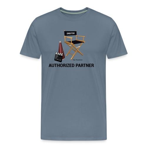 Mac Productions Authorized Partner Logo - Men's Premium T-Shirt