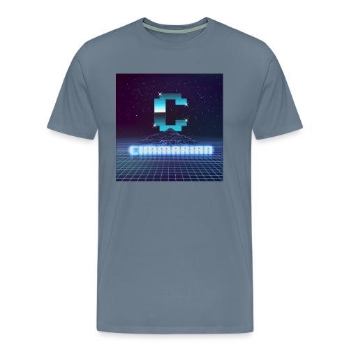 The killer 80s logo - Men's Premium T-Shirt
