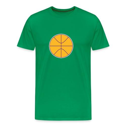 Basketball purple and gold - Men's Premium T-Shirt