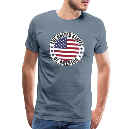 The United States of America - USA - Men's Premium T-Shirt