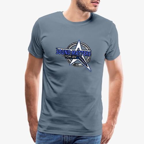 SOUND MATTERS Badge - Men's Premium T-Shirt