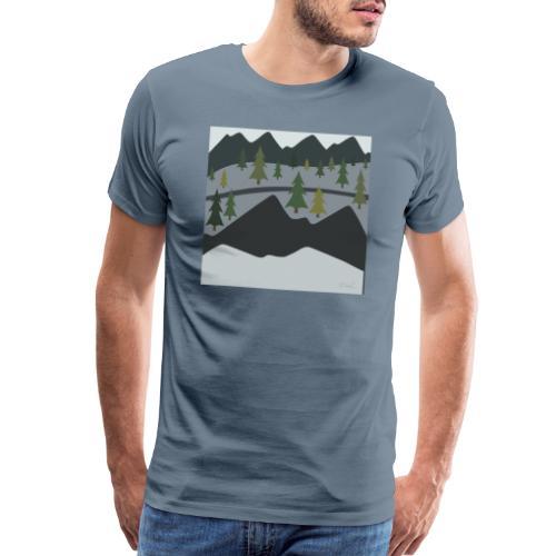 Scenic View - Men's Premium T-Shirt