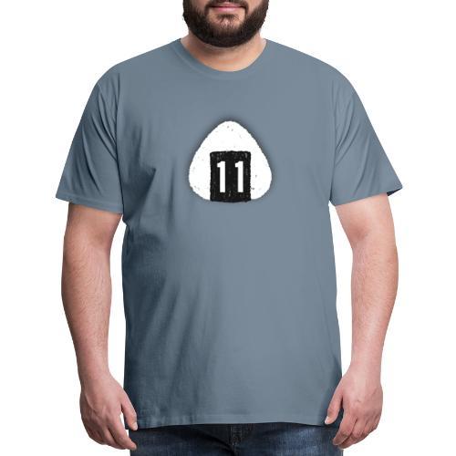 Onigiri Highway 11 Hawaii (dropshadow) - Men's Premium T-Shirt