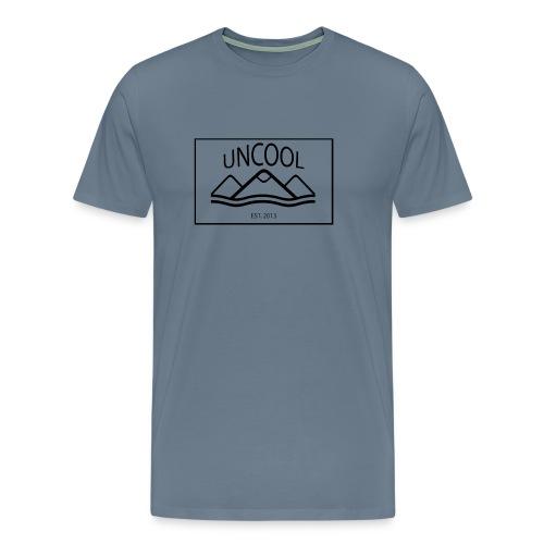 uncool_bw - Men's Premium T-Shirt