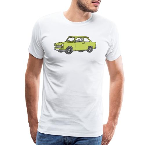 Trabant (baligreen car) - Men's Premium T-Shirt