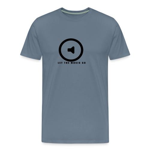 Let the music go - Men's Premium T-Shirt