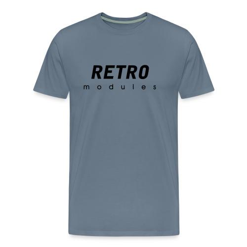 Retro Modules - sans frame - Men's Premium T-Shirt