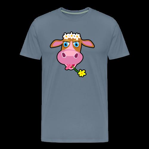Pink Cow - Men's Premium T-Shirt