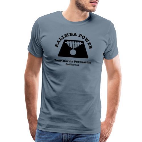Kalimba Power Tony Harris Percussion b - Men's Premium T-Shirt
