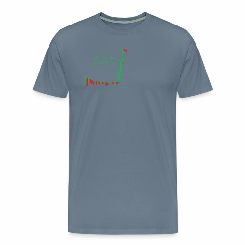 Wait for the short squeeze - Men's Premium T-Shirt