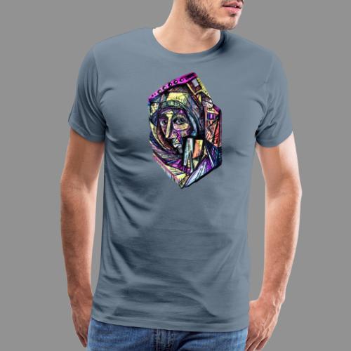 The Isolation of Insulation - Men's Premium T-Shirt