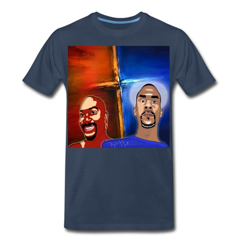 pretty tony galaxy 7 edge case - Men's Premium T-Shirt