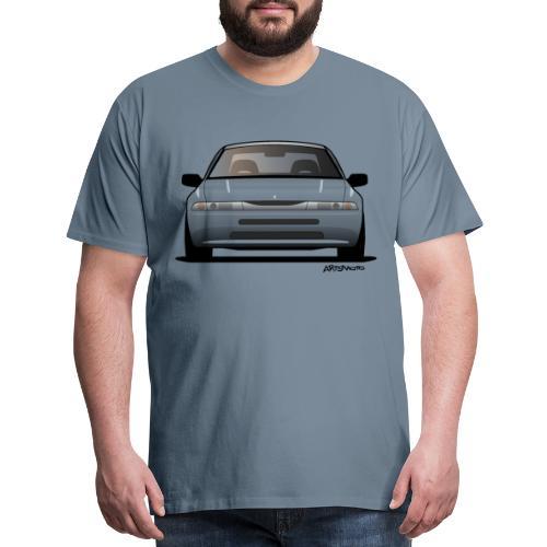 subaru_svx_sticker_clear - Men's Premium T-Shirt