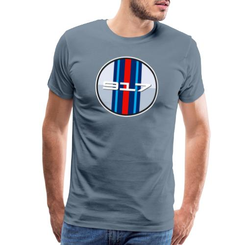 917 Martin classic racing livery - Le Mans - Men's Premium T-Shirt