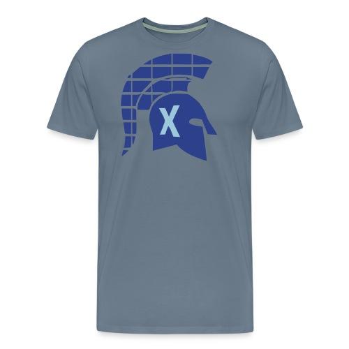 Spartans Tech Blue - Men's Premium T-Shirt