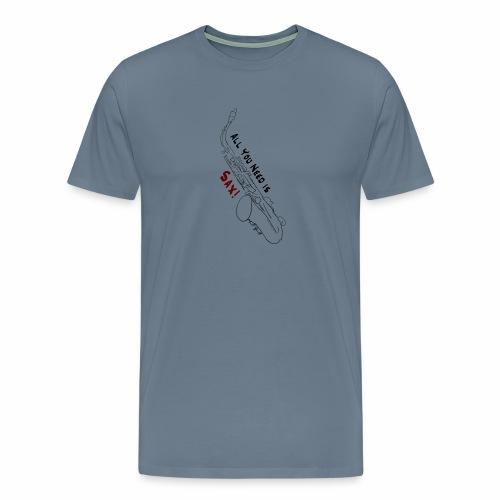 All you need is Sax! · Alto Version - Men's Premium T-Shirt