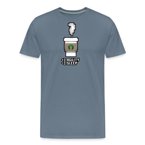 Pixel Coffee - Men's Premium T-Shirt