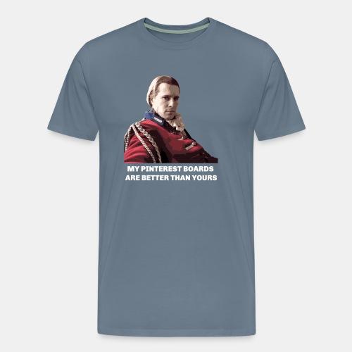 Lord John Grey - Pinterest Boards - Men's Premium T-Shirt