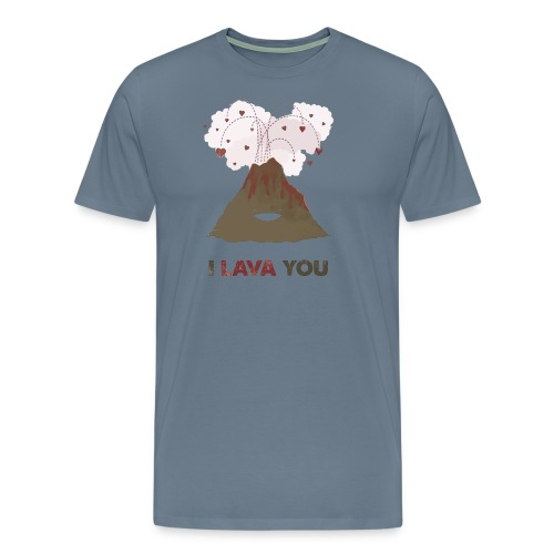 i lava you - Men's Premium T-Shirt