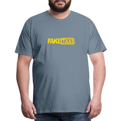FAKE TAXI Duffle Bag - Men's Premium T-Shirt