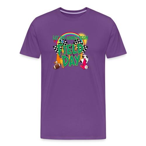 Field Day Games for SCHOOL - Men's Premium T-Shirt