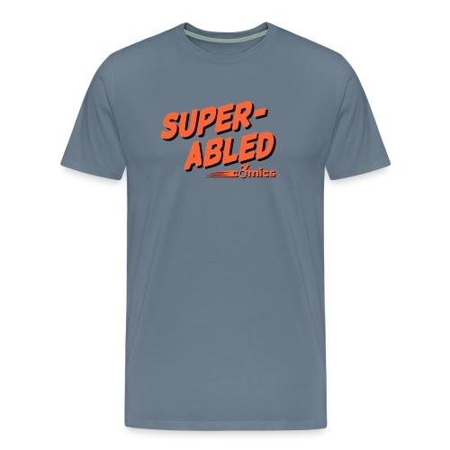 Super-Abled Comics orange + black - Men's Premium T-Shirt