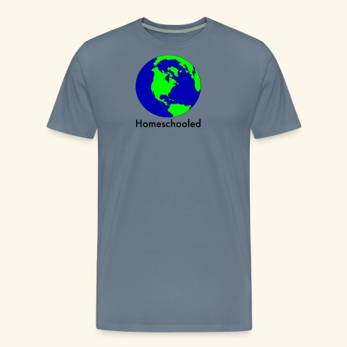 Homeschooled World - Men's Premium T-Shirt