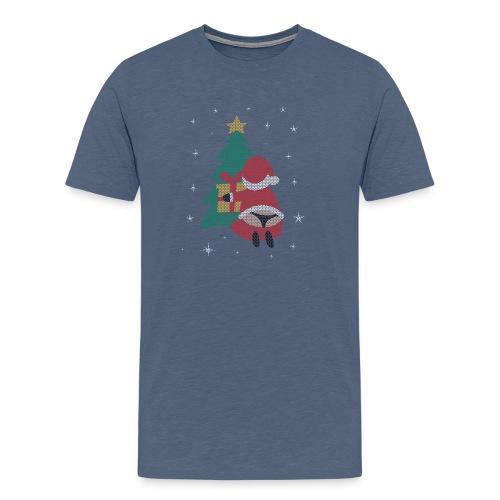 Ugly Christmas Sweater String Thong Santa - Men's Premium T-Shirt