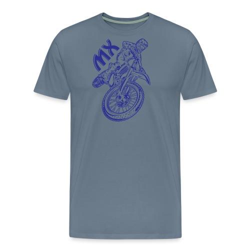 Motocross MX Racer - Men's Premium T-Shirt
