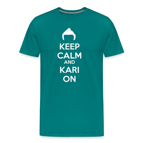 Kari on - Men's Premium T-Shirt