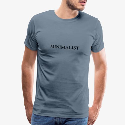Minimalist Simple Desing - Men's Premium T-Shirt