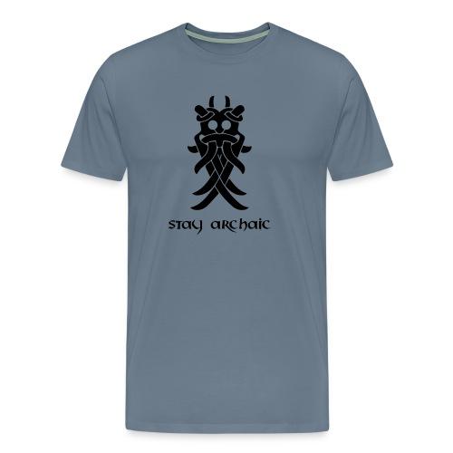 Odin's Mask - Men's Premium T-Shirt