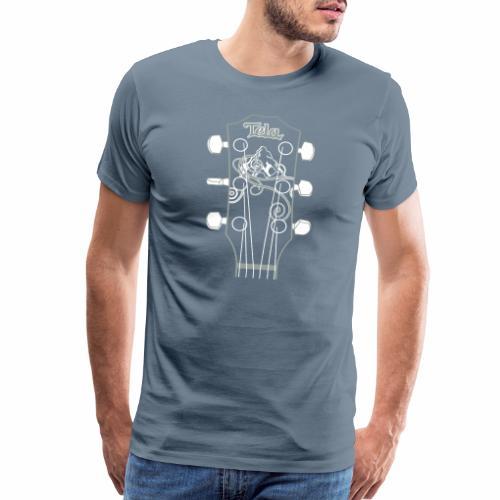 Tela Guitar - Men's Premium T-Shirt