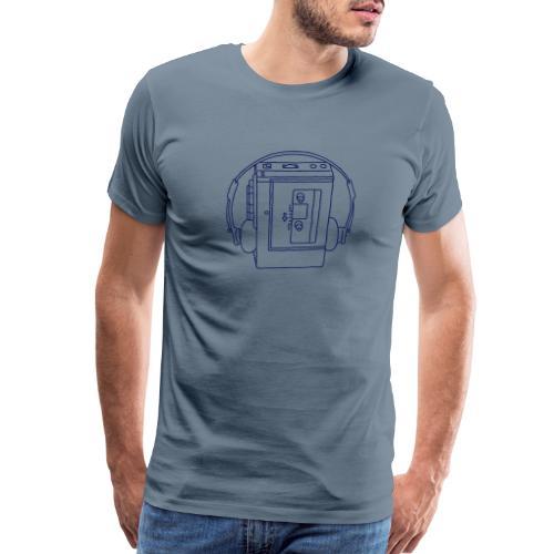 Walkman Portable cassette - Men's Premium T-Shirt