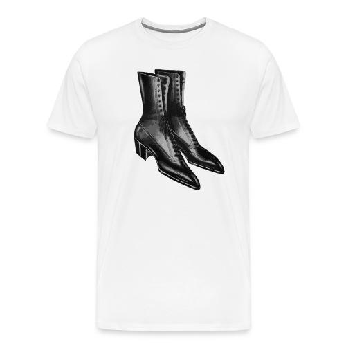 Zapatos Negros - Men's Premium T-Shirt