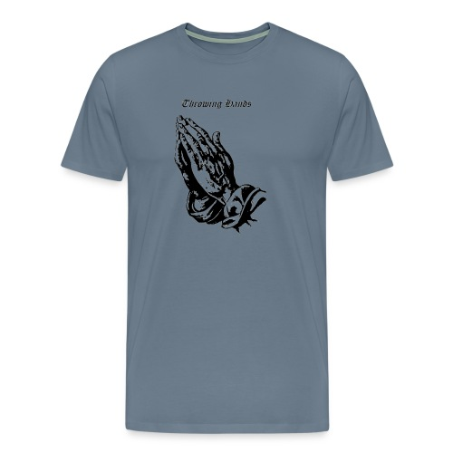 throwinghands - Men's Premium T-Shirt