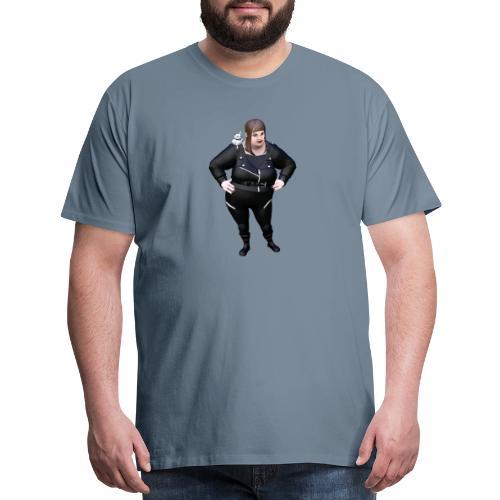 BELLS OF NEVERMORE AND HER CAT - Men's Premium T-Shirt
