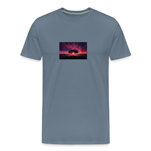 Tree of Sunlight - Men's Premium T-Shirt