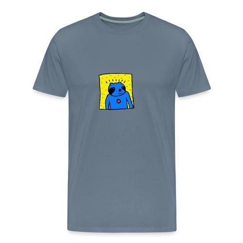 Sloth Portrait Hoodie - Men's Premium T-Shirt