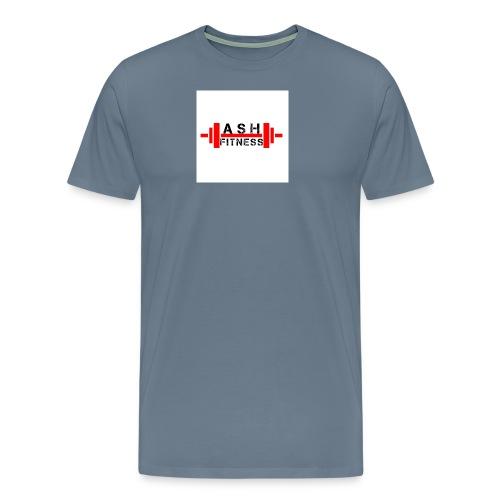 ASH FITNESS MUSCLE ACCESSORIES - Men's Premium T-Shirt